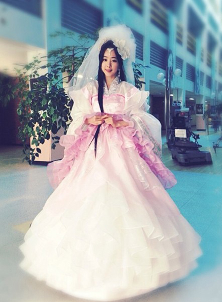 hongsongah_weddingdress